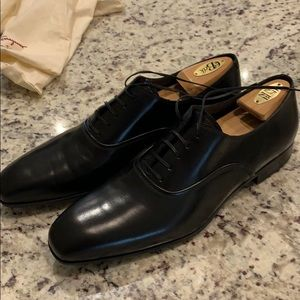 Salvatore Ferragamo Men's black lace up size 11